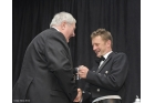SMRC Chairman Hugh McCaig with Allan McNish (credit Jim Moir)
